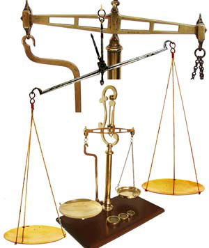 hanging in the balance antique scales gilai collectibles