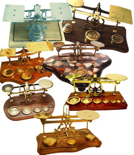Hanging in the Balance - Antique Scales - Gilai Collectibles