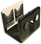 Metal Pocket Folding Stereoscope by Norsk Stereoscop Forlag...