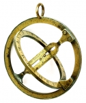 Mid 18th Century Brass Astronomical ring dial.