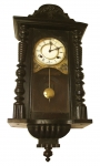 ON SALE ---- Early 20th Century German Pendulum Wall Clock - click to enlarge.