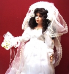 New Bride Doll From The Knightsbridge Collection Kent England.