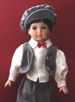 New Porcelain 'Tomboy Doll' From The Knightsbridge Collection...
