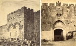 St. Stephen's Gate & the Golden Gate  circa1870 Set of Two Photos