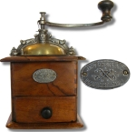 French Coffee Grinder by Japy Freres & Cie
