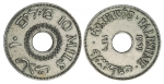 Trove of 5 and 10 Mil Palestine Eretz Israel Coins 1927-1946 - click to enlarge.