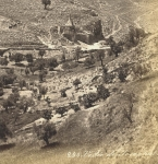 Valley of Jehosaphat and the Absalom Monument Jerusalem. Photo by Bonfils Vallée de Josaphat - click to enlarge.