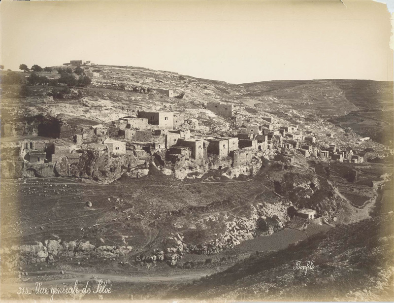 The Village Of Silwan Jerusalem Photo By Bonfils Vue