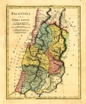 Wilkinson Map of the Holy Land 1806. Palaestina seu Terra...