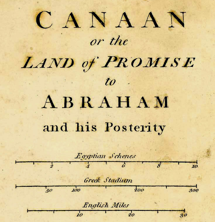 Wilkinson map of canaan or the land of promise 1807 gilai wilkinson map of canaan or the land of promise 1807 click to enlarge sciox Choice Image
