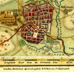 Wilkinson Map of Jerusalem 1807. The Land of Moriah or...
