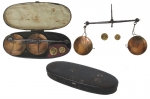 Early 19th Century Hand-Held Suspension Balance From England.
