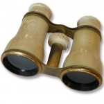 Ivory Covered Opera Glasses by Plossl & Co. Vienna