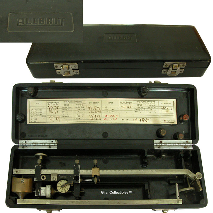 Allbrit Polar Planimeter By Stanley