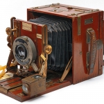 Sanderson Tropical ½ Plate Hand and Stand Camera circa 1905