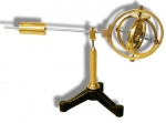 Compound Gyroscope. Antique Teaching Aid.