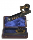 Abney Level Surveying Clinometer by Treacher and Co Ltd