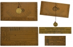 A Rare Surveying Sandhurst Protractor with Plumb Bob by...