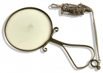 Hand Forged Nuremberg Magnifier  Steel and Glass Early...