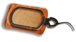 Rectangular Faux Tortoiseshell Magnifying Glass - click to enlarge.
