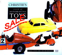 SALE  Christie's World of Automotive Toys  - click to enlarge.