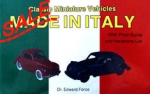 SALE Classic Miniature Vehicles: Made in Italy
