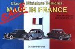 Classic Miniature Vehicles: Made in France SALE