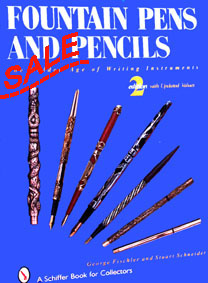 Fountain Pens and Pencils: The Golden Age of Writing Instruments SALE - click to enlarge.