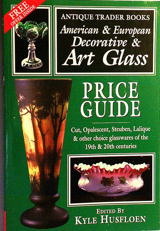 SALE American & European Decorative & Art Glass - click to enlarge.