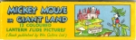 Lantern Slides RARE Mickey Mouse in Giant Land
