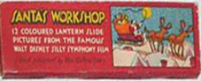 Lantern Slide Santa's Workshop Disney - click to enlarge.