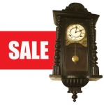 ON SALE ---- Early 20th Century German Pendulum Wall Clock