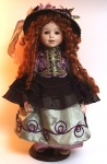 Bisque Porcelain Doll - Kate