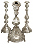 Pair Of Silver Candlesticks 1919