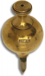 Solid Brass Plumb Bob by Record