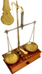 An Early Apothecary Beam Balance Scale by Avery, Birmingham.