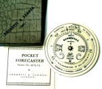 Pocket Weather Forecaster by Negretti & Zambra, London....