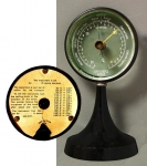 A 19th Century Table Aneroid Barometer By Goerz.