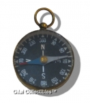 Old Brass German Magnetic Compass