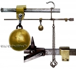 A Special Steelyard Scale Balance with Two Counterweights and Fou...