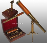 Early 19th Century British Galileo Type Telescope by Springer,...