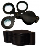Victorian Horn-Cased Set Of Magnifying Glasses