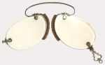 Mid 19th Century Rimless French Pince-Nez Spectacles