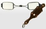 Hinged Lorgnette Spectacles 19th Century Tortoise-Shell...