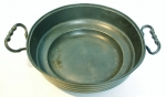 German Serving Bowl with Hebrew Letters