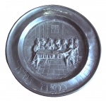 Passover Pewter Plate