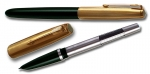 Parker 51 Aerometric Pen with Gold Plated Cap