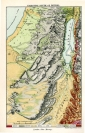 Geological Map of Palestine South of Bethel. Published...