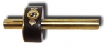 Brass and Ebony Mortise Gauge - click to enlarge.