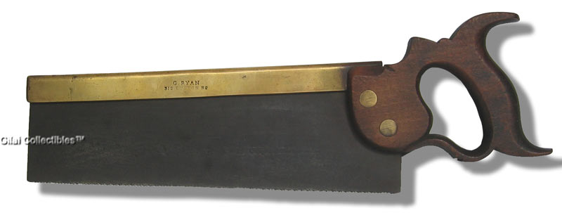 11 Inch Brass-Back Dovetail Saw - click to enlarge.